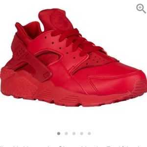 Red Huaraches size 8.5 men's